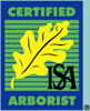 Certified Arborist by the ISA(International Society of Arboriculture)