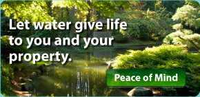 Let water give life to you and your property